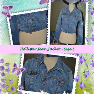 Hollister Jean Jacket - Small